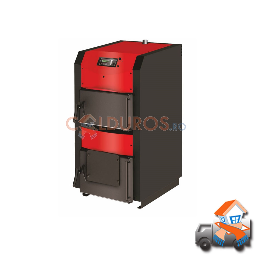 CAZAN DIN OTEL WOODY ACTIVE WBS50 - 50KW + TRANSPORT GRATUIT
